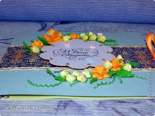 Вдохновительницей на эти открытки была АЛЬБИНА УФА. http://stranamasterov.ru/node/368663 фото 5