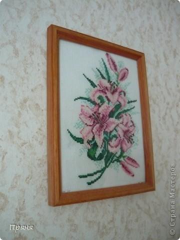 Розовые лилии фото 2