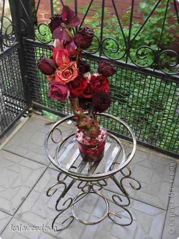 Розы насушила и пофантазировала с ними. фото 2