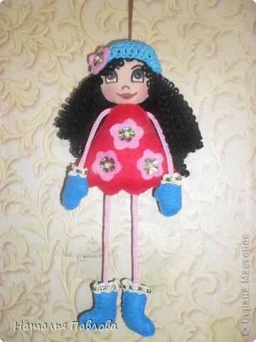 Куклы-подвески(по примеру двух Ирин из Страны Мастеров).Пусть меня простят,просто захотелось сшить такие... фото 2