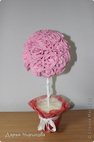 Это мое первое деревце! Насмотрелась красивостей в интернете, и подумала, чем мои руки хуже)) фото 4