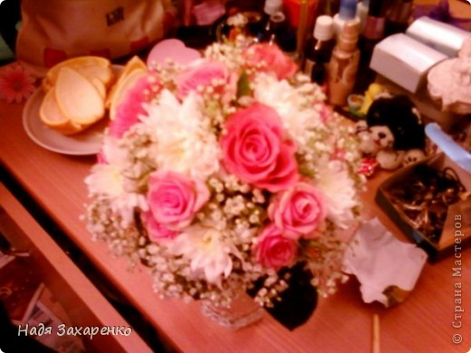 свадебный  букет фото 1