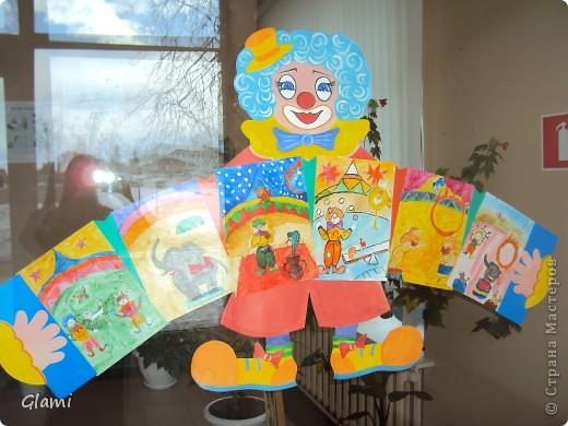 """Рисунки детей """"В цирке"""" фото 1"""