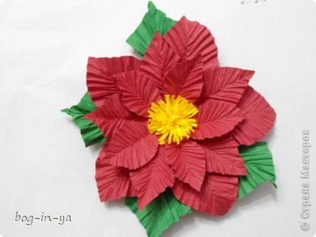 Вот такой цветок получился по МК ASTORIA фото 1