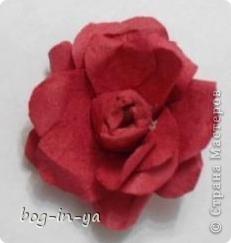 Вот такой цветок получился по МК ASTORIA фото 2