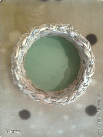Вид сверху(внутренняя часть конфетницы) фото 1