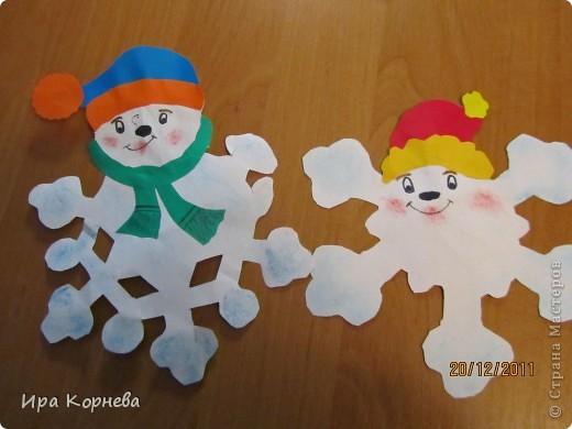 Немножко не новогоднее для июня , но всё-же... Это работы моего сынули 8 лет. Это мы делали к новому году. Идея взята из велики просторов инета. фото 1