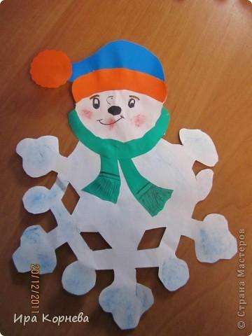 Немножко не новогоднее для июня , но всё-же... Это работы моего сынули 8 лет. Это мы делали к новому году. Идея взята из велики просторов инета. фото 2