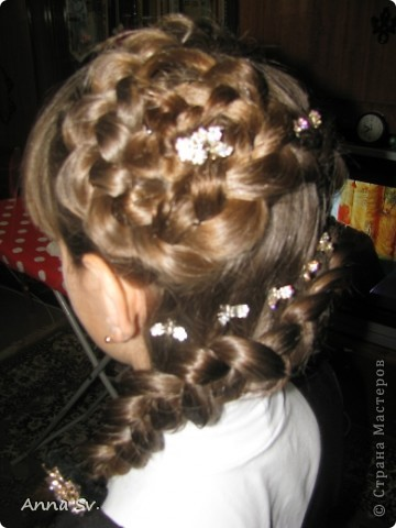 Фото причёски на последний звонок детям