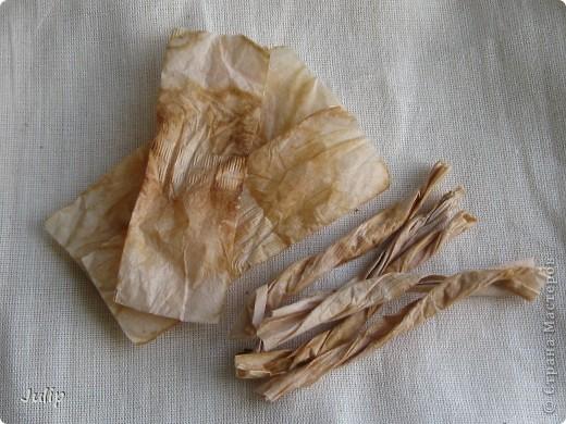 Добрый день! Хочу поделится идеей создания розы из чайных пакетов. Мне нравится мастерить из бросового материала. В этот раз решила попробовать в работе чайные пакеты и посмотреть, что может получится. фото 2