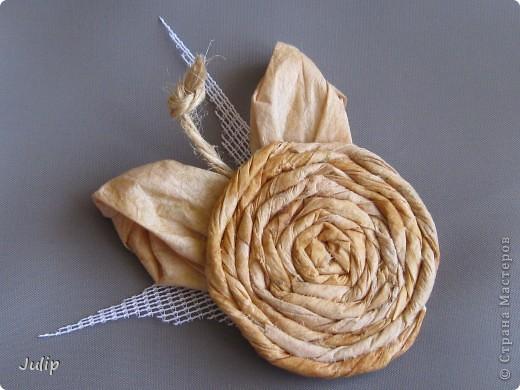 Добрый день! Хочу поделится идеей создания розы из чайных пакетов. Мне нравится мастерить из бросового материала. В этот раз решила попробовать в работе чайные пакеты и посмотреть, что может получится. фото 1