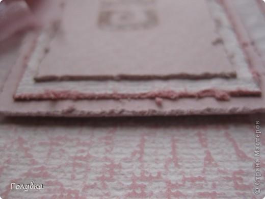 """Наши чувства и эмоции бывают разного цвета. Вот сегодня """"родилось """" моё """"Скучаю"""" в розовом:) И опять тон в тон:) Card Making фото 4"""