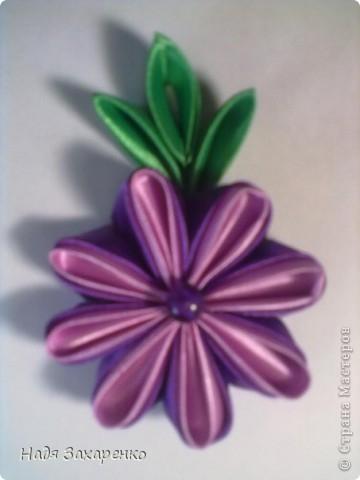 Цветы Канзаши. фото 1