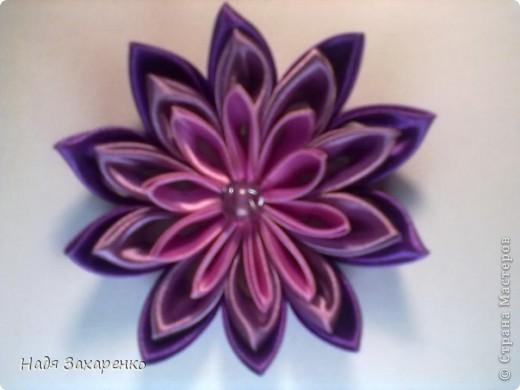 Цветы Канзаши. фото 3