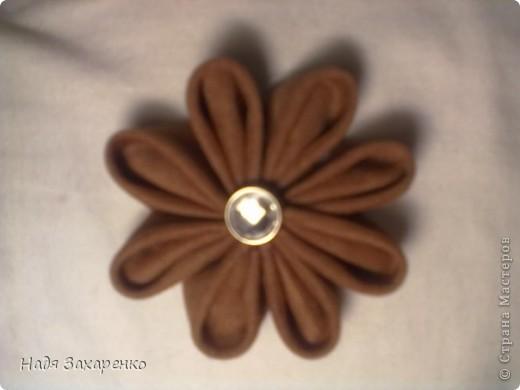 Цветы Канзаши. фото 2