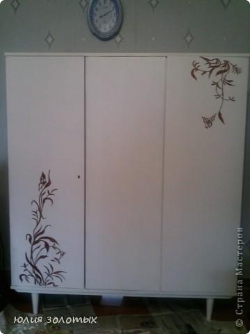 Как украсить шкаф своими руками в домашних условиях