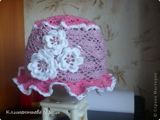 Беретик с цветком канзаши фото 13