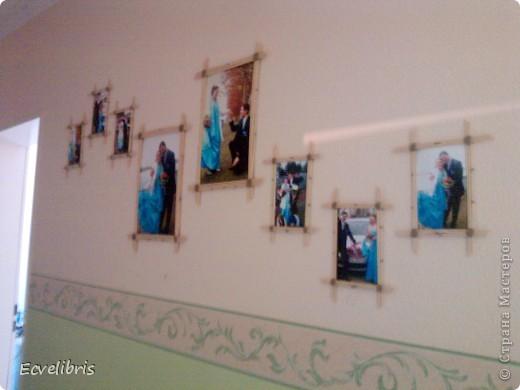 вот такие рамочки висят у меня в коридоре фото 2