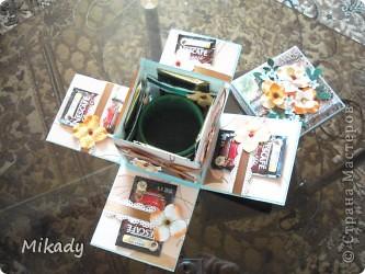 Эта коробочка в подарок моей подруге, она любитель попить чай и кофе. фото 2