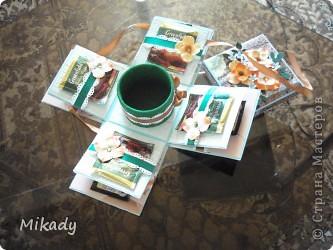 Эта коробочка в подарок моей подруге, она любитель попить чай и кофе. фото 4