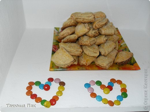 вот  выбрала время испечь мои любимые печеньки) кто заинтересовался, вот рецепт)  фото 1