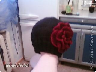 Эту шапочку вязала на заказ. фото 2