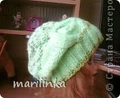 Эту шапочку вязала на заказ. фото 4