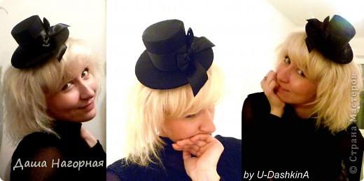 Разок пришлось к костюму сделать шляпку и как втянулась)))) фото 4