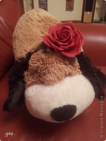 Хотелось сделать что то в стиле фламенко,  получилось что то. Мне кажется что с розами я не дружу. Ужас, жуть, кошмар!!!!!!!! Скажите что думаете, по моему мнению мусор!!!!!!!!! фото 4