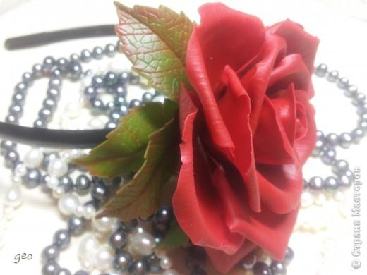 Хотелось сделать что то в стиле фламенко,  получилось что то. Мне кажется что с розами я не дружу. Ужас, жуть, кошмар!!!!!!!! Скажите что думаете, по моему мнению мусор!!!!!!!!! фото 2