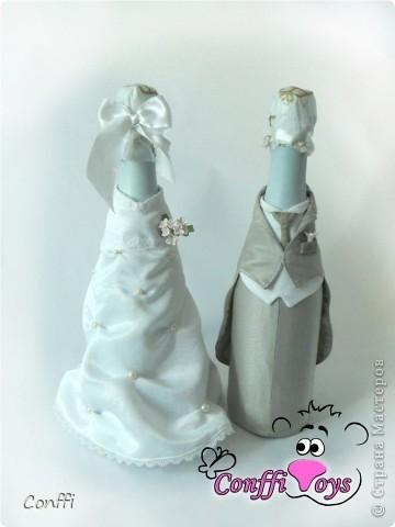 У брата была свадьба, естественно без подарков моими руками не обошлось )))  - дарила свадебный набор. фото 2