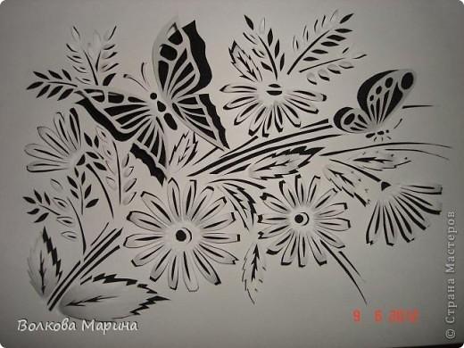 Розочка. В моём любимом чёрно-белом стиле.  фото 4