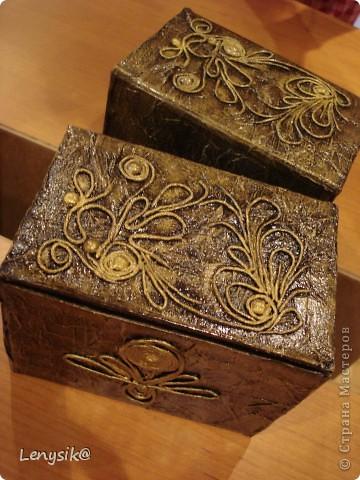 Коробченка для хранения всякой всячины фото 1
