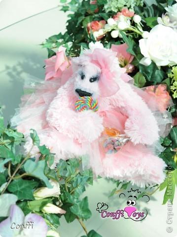 Хочу вас познакомить с моим хобби. Я занимаюсь авторской игрушкой ручной работы.  Это Мечташа. Любит лежать на травке , дарить всем цветы и наблюдать за бабочками.. фото 5