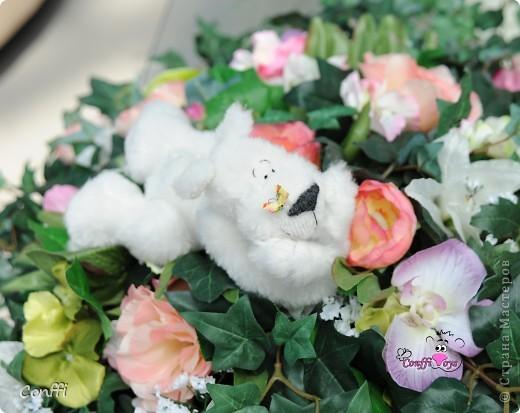 Хочу вас познакомить с моим хобби. Я занимаюсь авторской игрушкой ручной работы.  Это Мечташа. Любит лежать на травке , дарить всем цветы и наблюдать за бабочками.. фото 6
