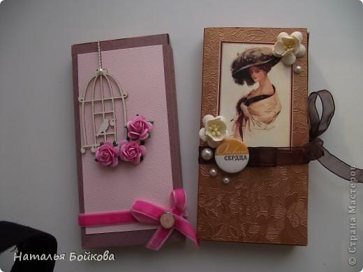Скрапбукинг Ассамбляж На долгую память   шоколадницы Бумага фото 1