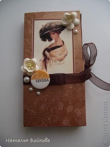 Скрапбукинг Ассамбляж На долгую память   шоколадницы Бумага фото 5