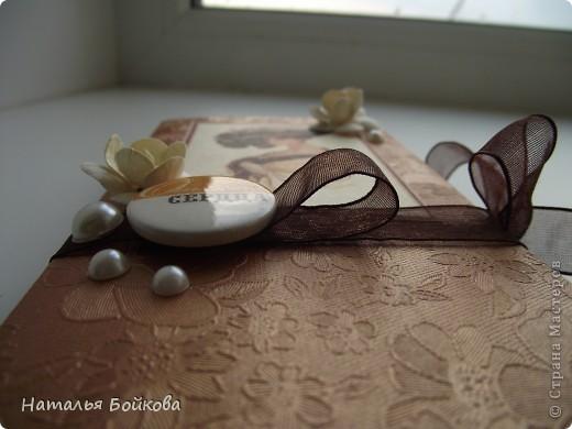 Скрапбукинг Ассамбляж На долгую память   шоколадницы Бумага фото 7