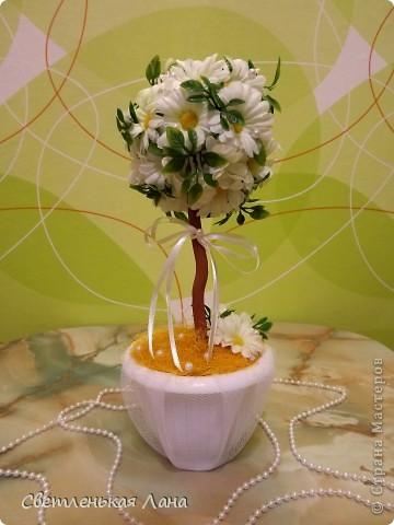 Доброго времени суток, жители и гости СМ! Заказали мне деревцо на свадьбу и попросили именно так его оформить. Вот что у меня получилось. фото 1