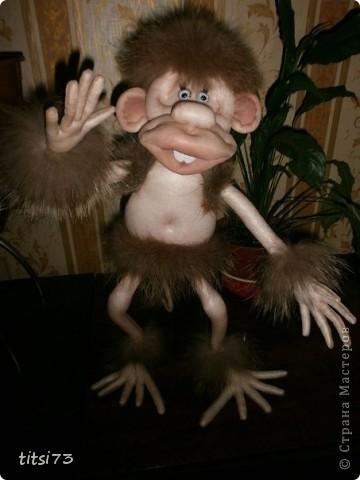 повторялка обезьянка