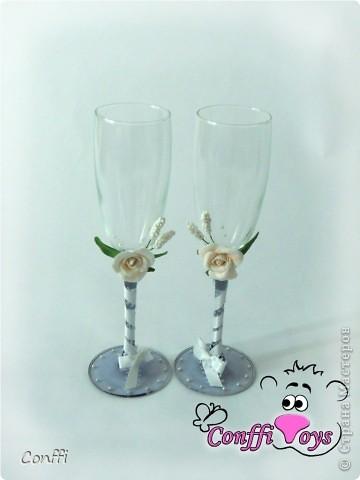 У брата была свадьба, естественно без подарков моими руками не обошлось )))  - дарила свадебный набор. фото 3