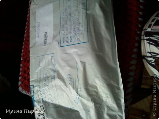 Как я люблю нашу Страну,а вас всех девочки ещё БОЛЬШЕ!!!!Получила сегодня посылочку и бежала домой под дождём,высунув язык от нетерпения!!!Прислала мне её Женечка из Волгограда!!!!!Ник Евгения Серж http://stranamasterov.ru/node/365588 фото 1