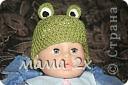 шапулька -лягушонок, для фотосессии