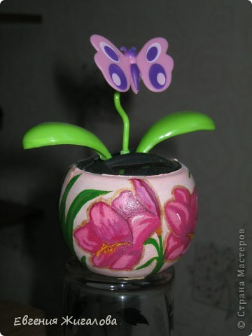 Захотелось чтобы бабочка над цветочком порхала:))) фото 2