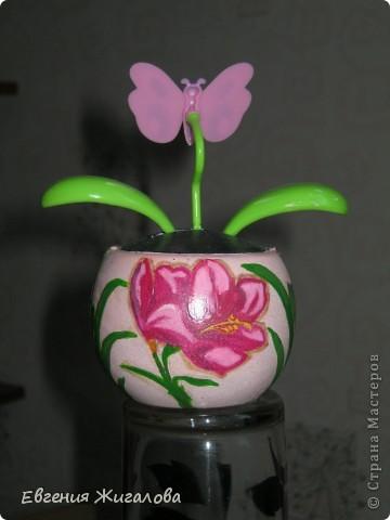 Захотелось чтобы бабочка над цветочком порхала:))) фото 3