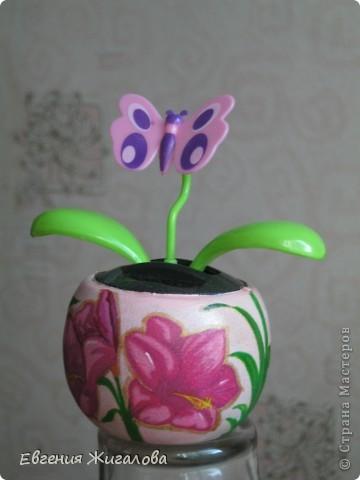 Захотелось чтобы бабочка над цветочком порхала:))) фото 4