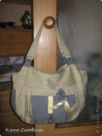 Моя новая сумочка.Сшита по просьбе кумы,определённых пожеланий не высказала,попросила чтоб было красиво и подходило как к спортивной одежде так и к другой. фото 24