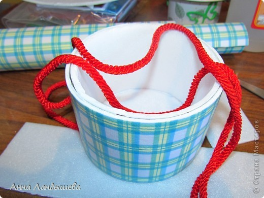 Сотворилась) Корзиночка подарочная, под сладкий подарочек или под интересные мелочи) фото 11