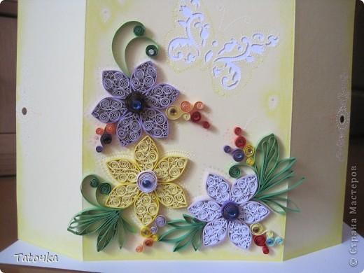 Добрый вечер!! У меня еще одна открыточка. Делала для моей двоюродной сестры... фото 3