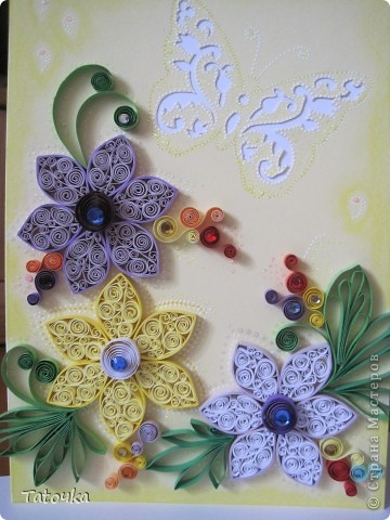 Добрый вечер!! У меня еще одна открыточка. Делала для моей двоюродной сестры... фото 4